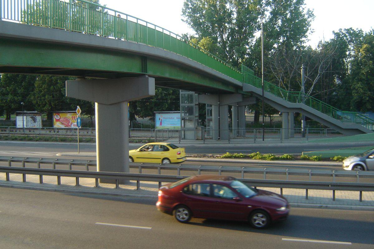 Ulica Marynarska w Warszawie, opracowanie projektu 2005 r.