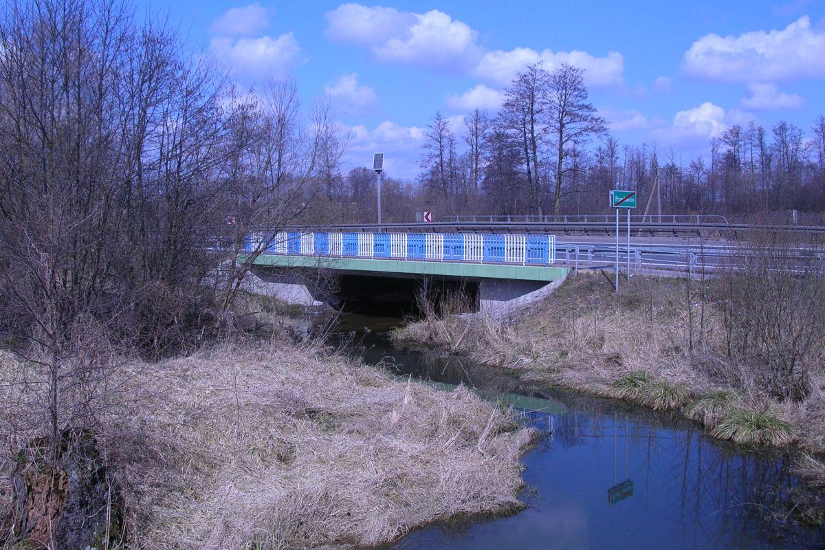 Droga krajowa nr 50 – rzeka Jeziorka, opracowanie projektu 2000 r.