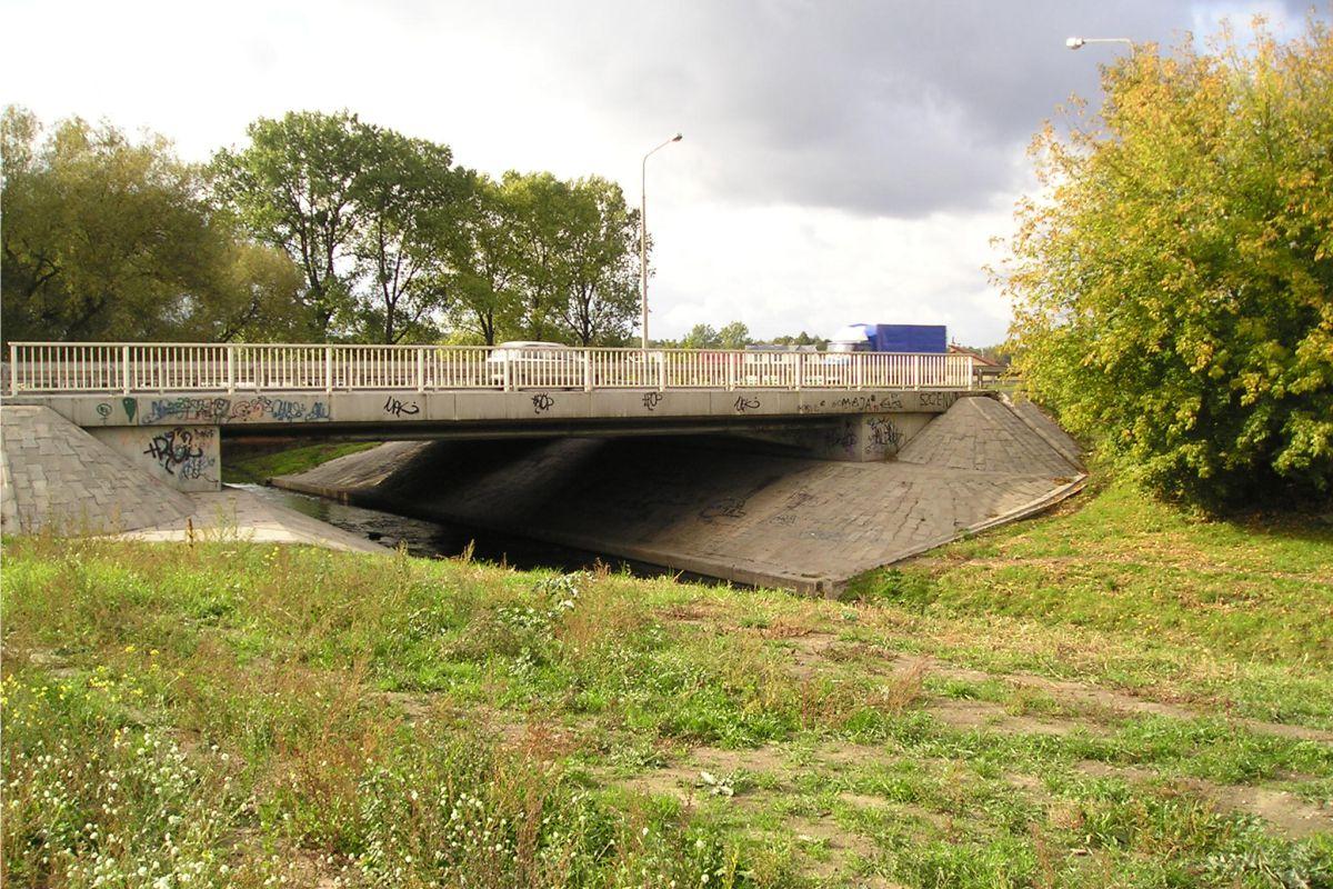 Rzeka Mleczna w Radomiu, opracowanie projektu 1992 r.