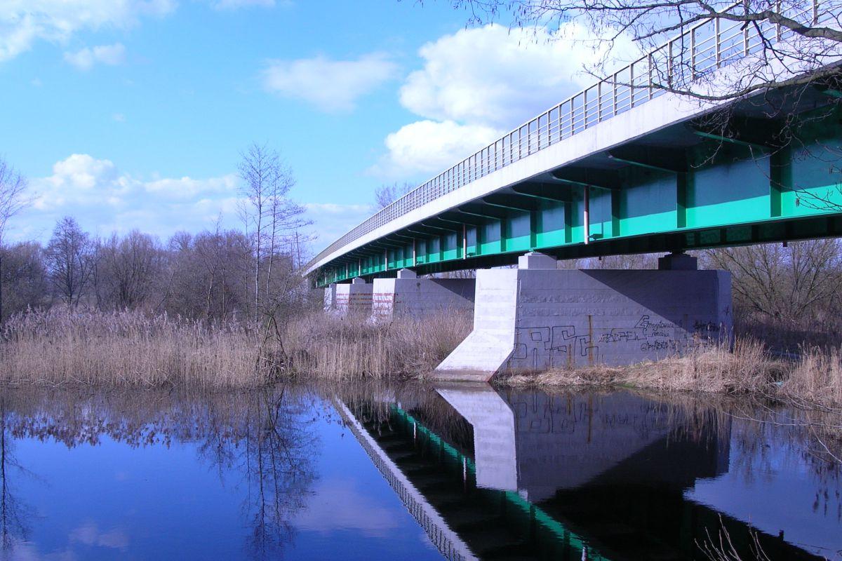 Most drogowy nad rzeką Pilicą w Warce, opracowanie projektu 1998 r.