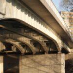 Most nas wejściem do Portu Praskiego w Warszawie, opracowanie projektu 2002 r.